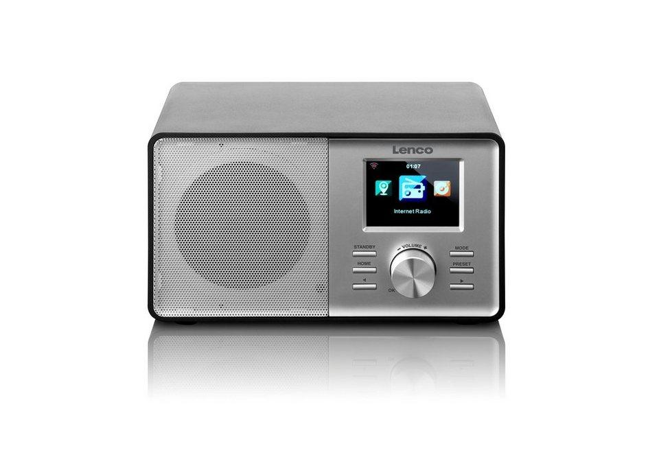 Lenco Internetradio mit FM-Radio »CR-2003« in silber