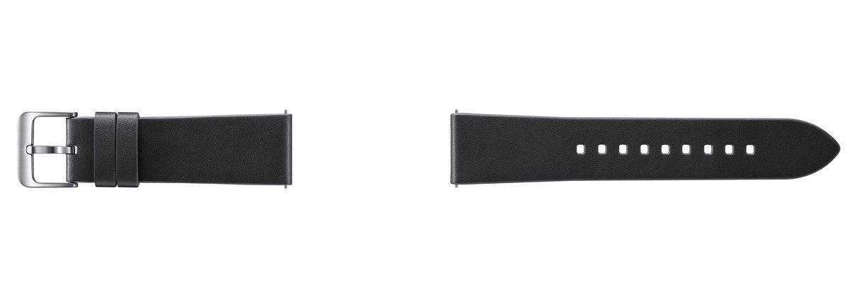 Samsung Ersatz-/Wechselarmband »Standard Leder-Armband für Gear S3, 22mm«