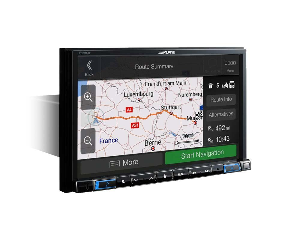 ALPINE Navigation »X801DC-U«