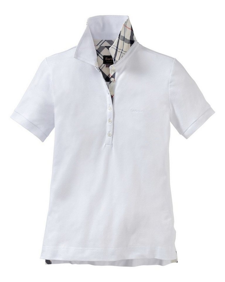 Barbour Poloshirt Golding in Weiß