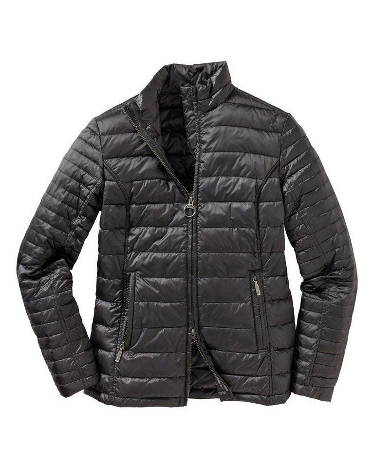 Barbour Steppjacke Iona in Anthrazit
