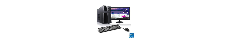 "CSL Office PC Set | Intel J1900 | 8 GB RAM | SSD | 22"" TFT »Speed T1893 Windows 10 Home«"