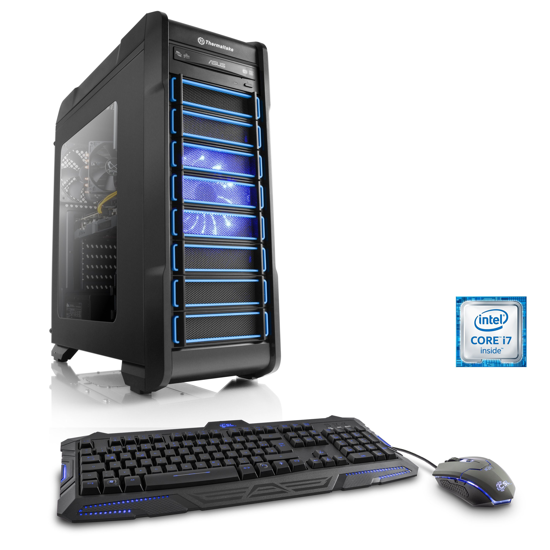 CSL Gaming PC i7-6700 | GeForce GTX 1060 | 16 GB DDR4 | 240 GB SSD »Levitas T7760 Windows 10«