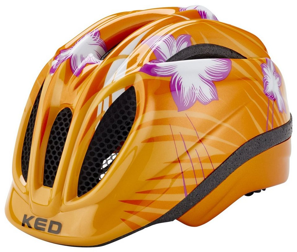 KED Fahrradhelm »Meggy Helmet« in orange