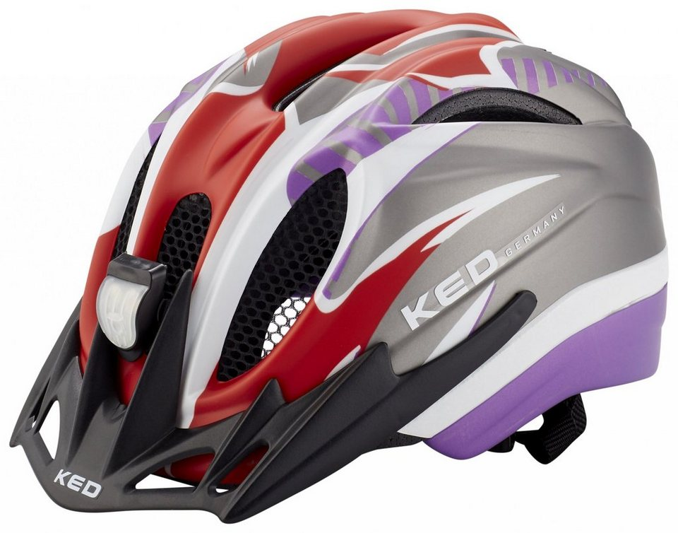 KED Fahrradhelm »Meggy Reflex Helmet« in grau