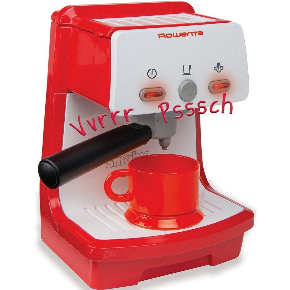 Smoby Rowenta elektronische Espressomaschine Küchengerät