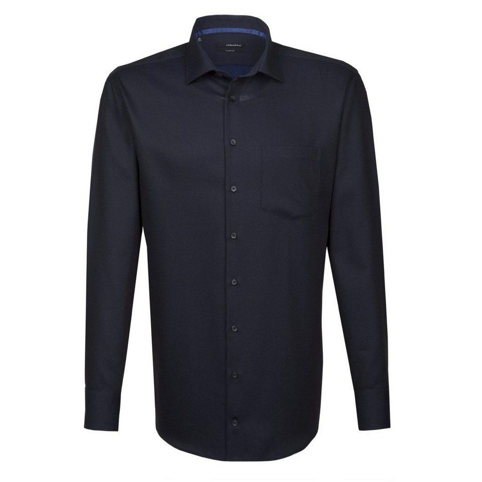 SEIDENSTICKER Businesshemd »Comfort« in schwarz