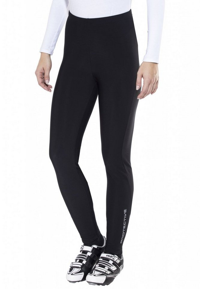 Protective Radhose »Long Tight Women« in schwarz