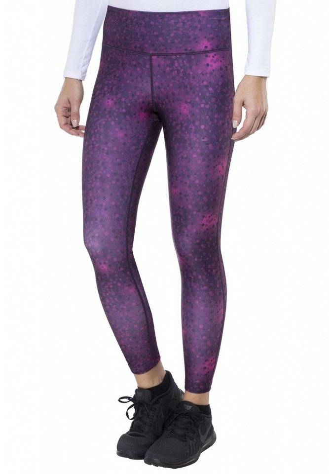 Craft Jogginghose »Pure Print Tights Women« in lila
