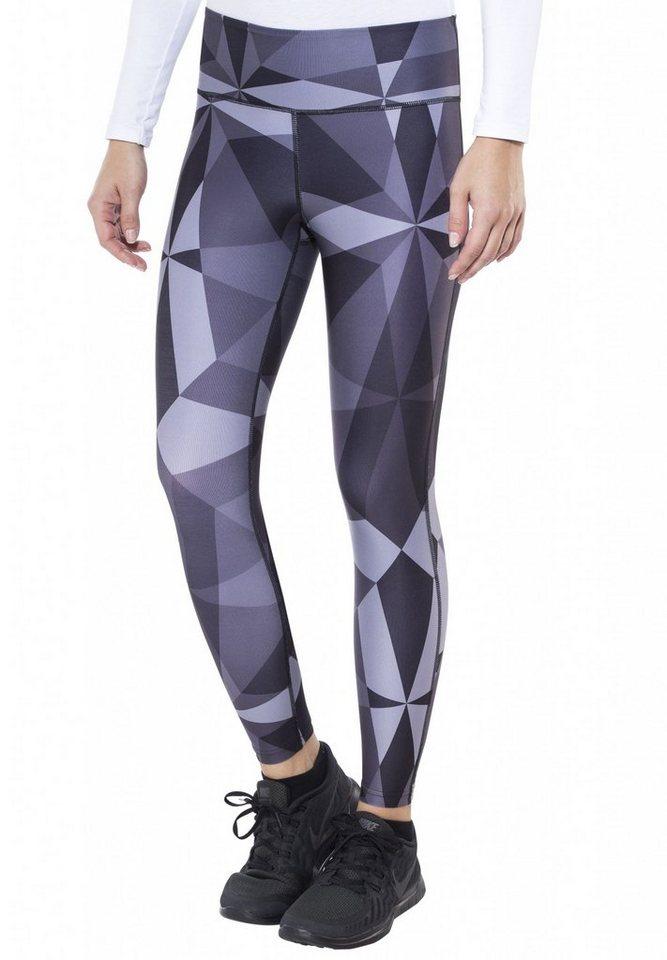 Craft Jogginghose »Pure Print Tights Women« in schwarz