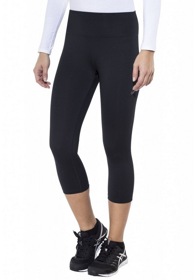 asics Jogginghose »Spiral 3/4 Tight Women« in schwarz