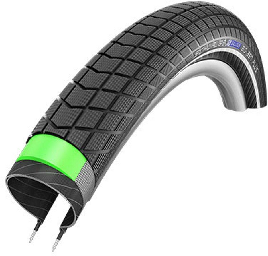 "SCHWALBE Fahrradreifen »Big Ben Plus Performance GreenGuard E-50 26"" Draht«"