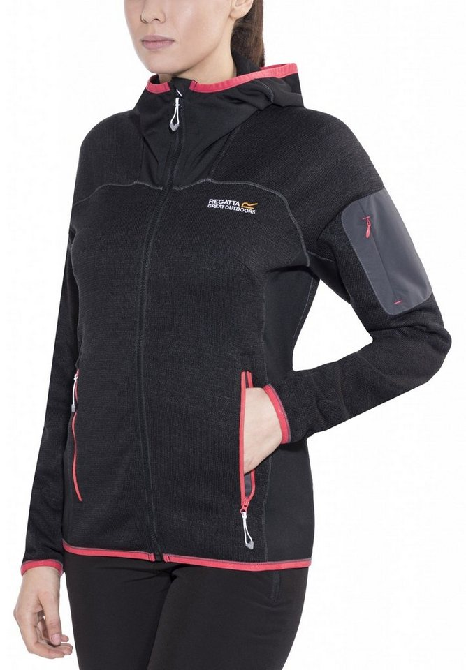 Regatta Outdoorjacke »Willowbrook II Fleece Women« in schwarz