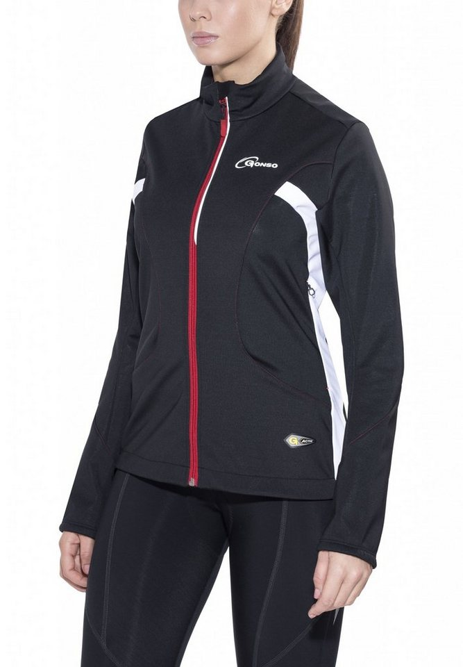 Gonso Radjacke »Birgit Softshell Active Jacke Damen« in schwarz