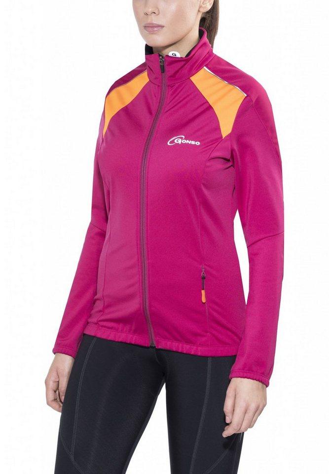 Gonso Radjacke »Lussari V2 Thermo Active Jacke Damen« in pink