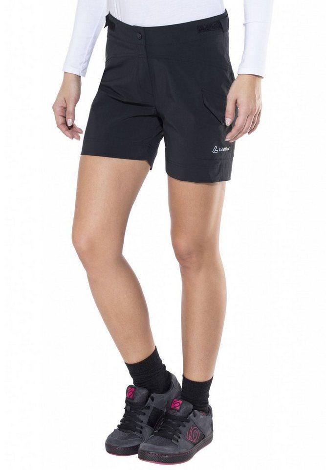 Löffler Radhose »Comfort Stretch Light Bike Shorts Damen« in schwarz