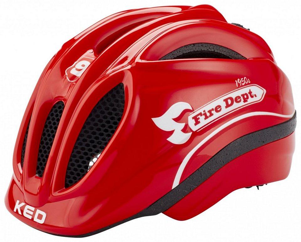 KED Fahrradhelm »Meggy Helmet« in rot