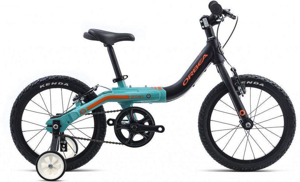 ORBEA Kinderrad »Grow 1« in schwarz