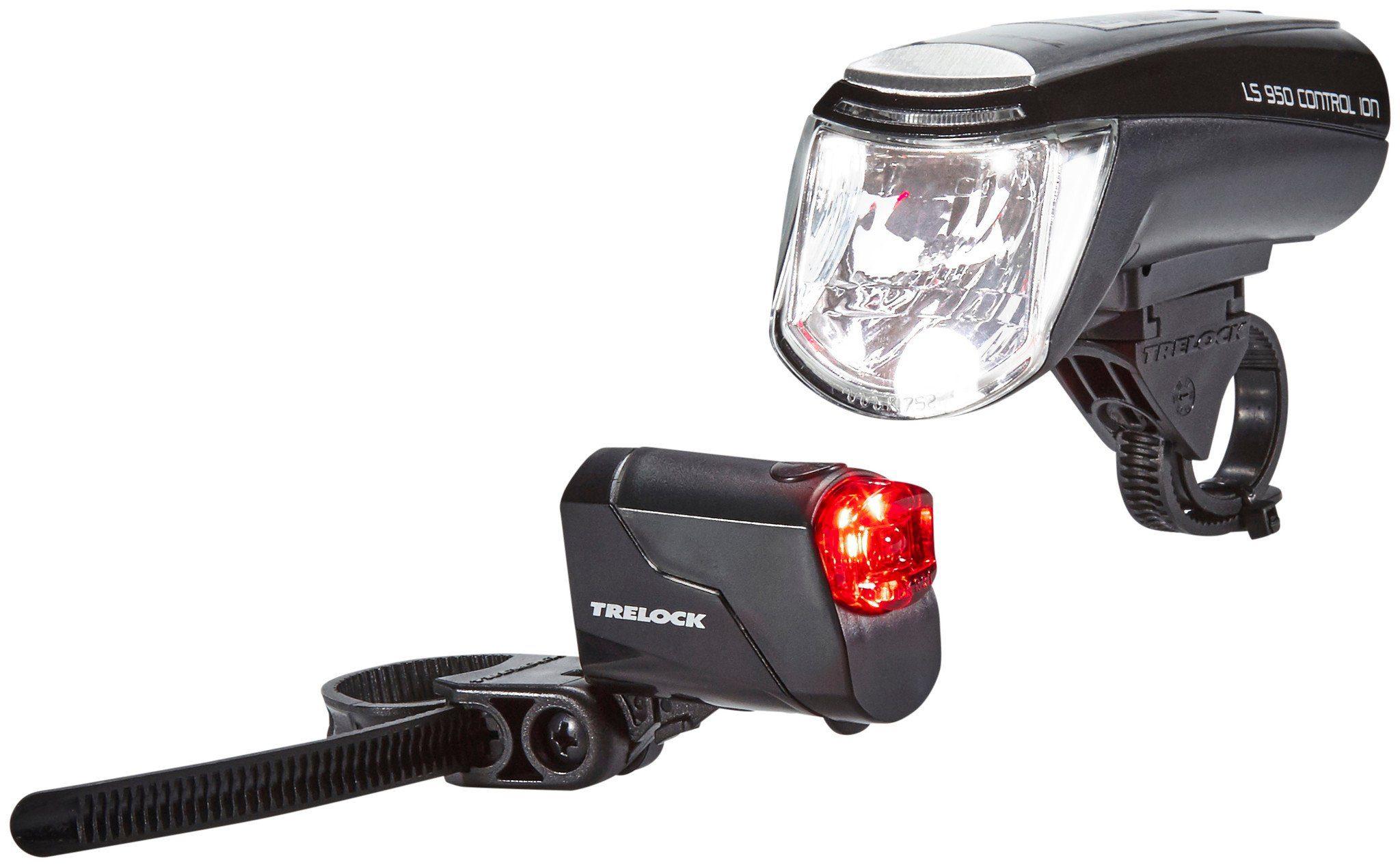 Trelock Fahrradbeleuchtung »LS 950 CONTROL ION / LS 720 Beleuchtungsset«