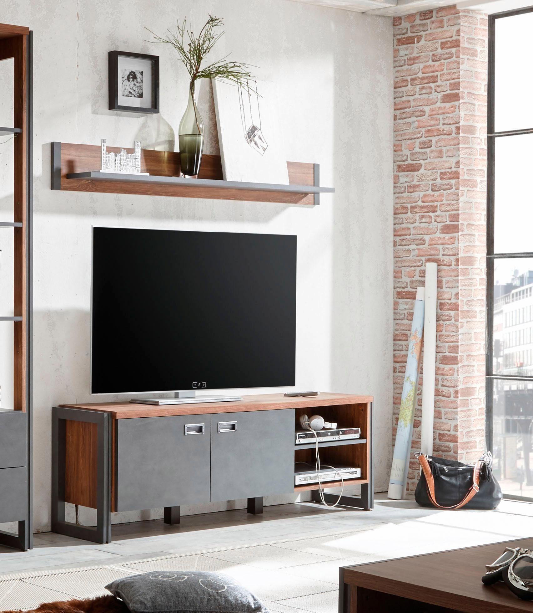 Home affaire Lowboard »Detroit«, Breite 160 cm, im angesagten Industrial Look