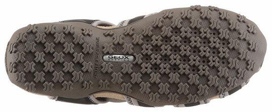 Geox Donna Sandal Strel Outdoorsandale, mit Kontrast-Details