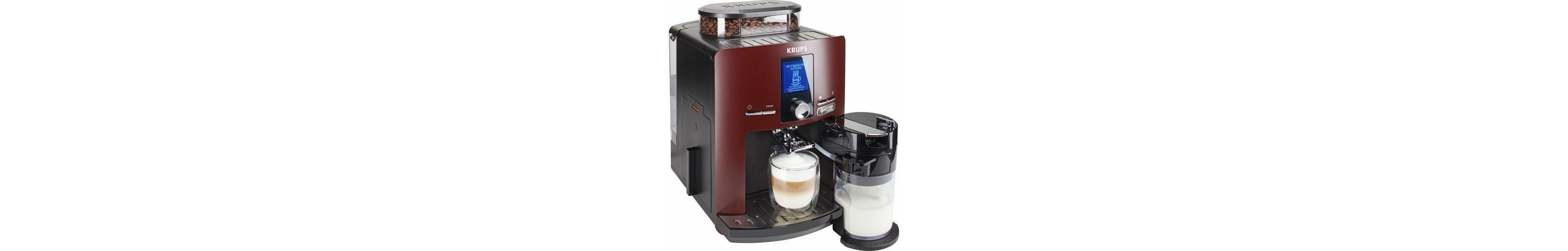 Krups Kaffeevollautomat EA829G Latt'Espress Quattro Force, One-Touch Funktion, Milchbehälter, 1,7 L