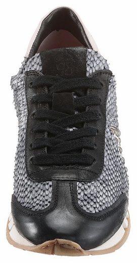 Chaussure En Dentelle As98, Avec Gaufrage Reptile Scintillant