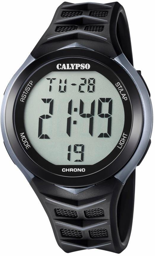 CALYPSO WATCHES Chronograph »K5730/1« in schwarz