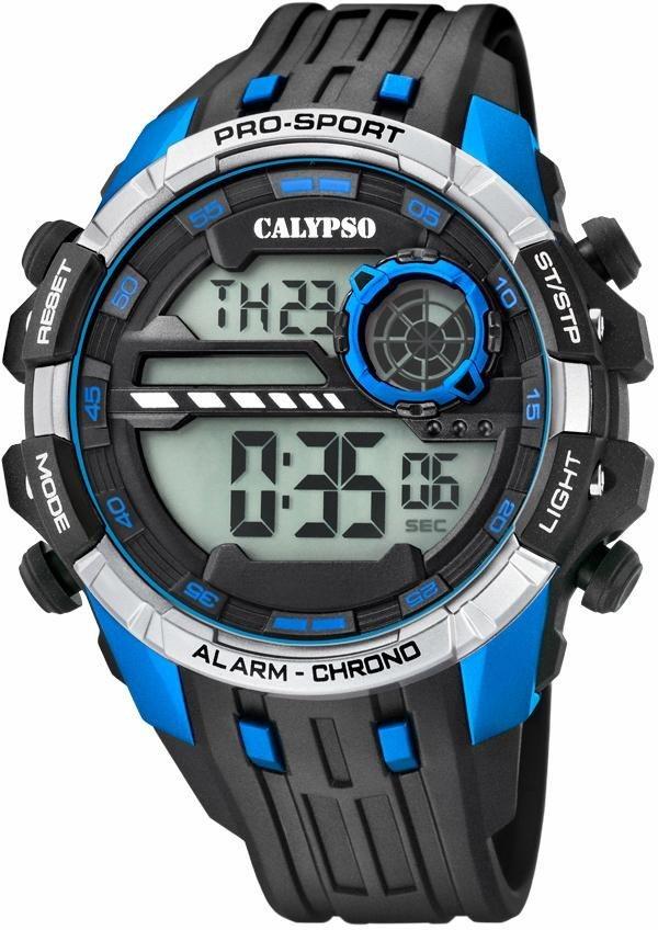CALYPSO WATCHES Chronograph »K5729/3« in schwarz
