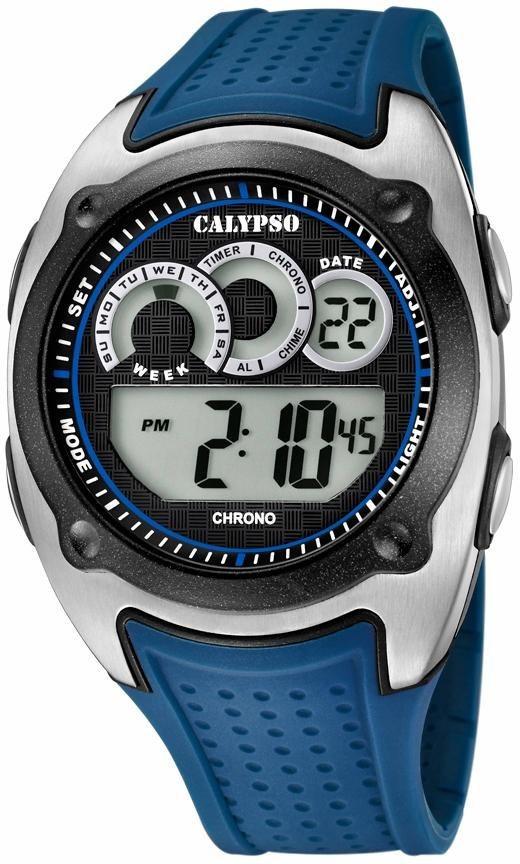 CALYPSO WATCHES Chronograph »K5722/3« in blau