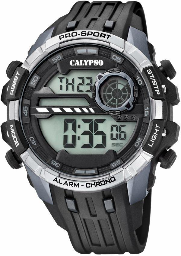 CALYPSO WATCHES Chronograph »K5729/1« in schwarz