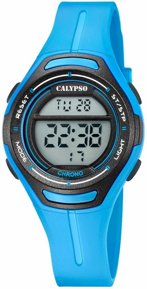 CALYPSO WATCHES Chronograph »K5727/4« in blau