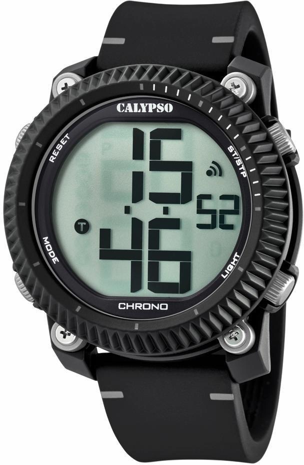 CALYPSO WATCHES Chronograph »K5731/1« in schwarz