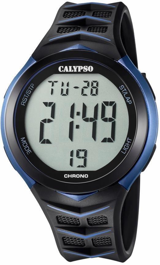 CALYPSO WATCHES Chronograph »K5730/2« in schwarz