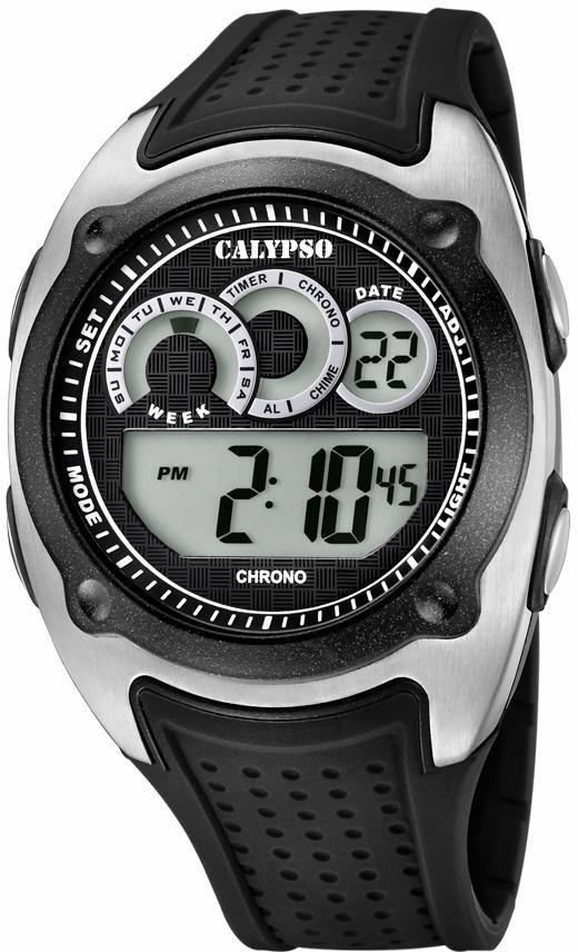CALYPSO WATCHES Chronograph »K5722/4« in schwarz
