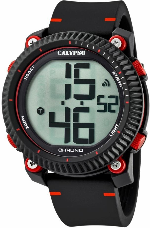 CALYPSO WATCHES Chronograph »K5731/3« in schwarz