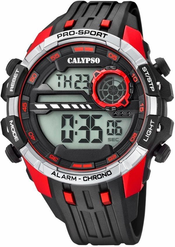 CALYPSO WATCHES Chronograph »K5729/4« in schwarz