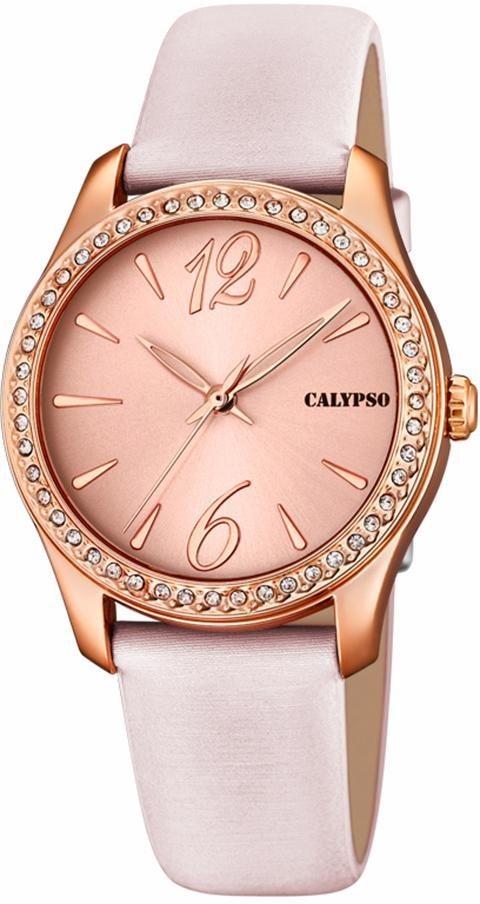 CALYPSO WATCHES Quarzuhr »K5717/5« in rosé