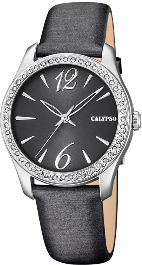 CALYPSO WATCHES Quarzuhr »K5717/4« in anthrazit