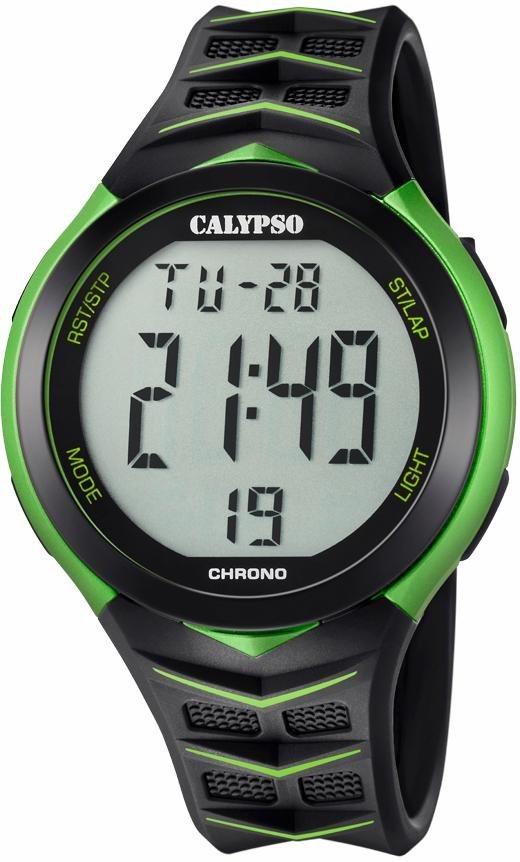 CALYPSO WATCHES Chronograph »K5730/4« in schwarz