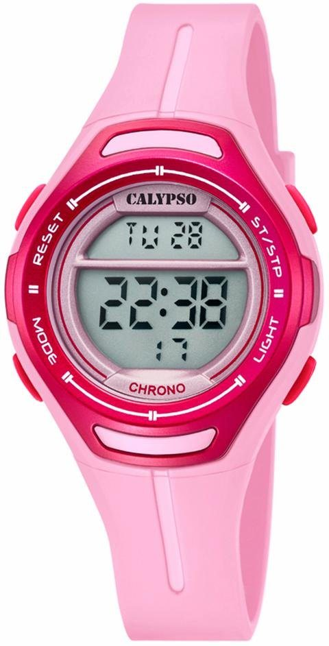 CALYPSO WATCHES Chronograph »K5727/2« in rosa
