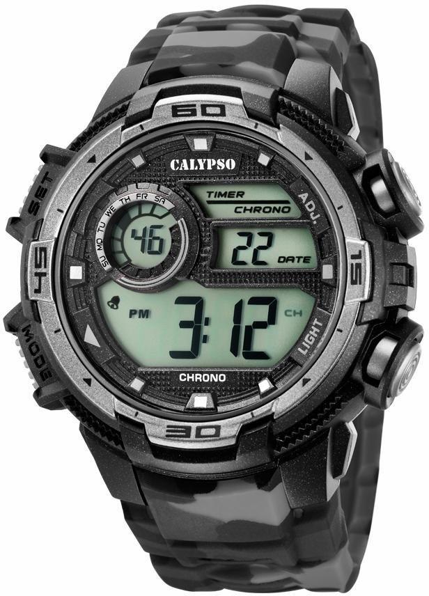 CALYPSO WATCHES Chronograph »K5723/3« in schwarz-grau