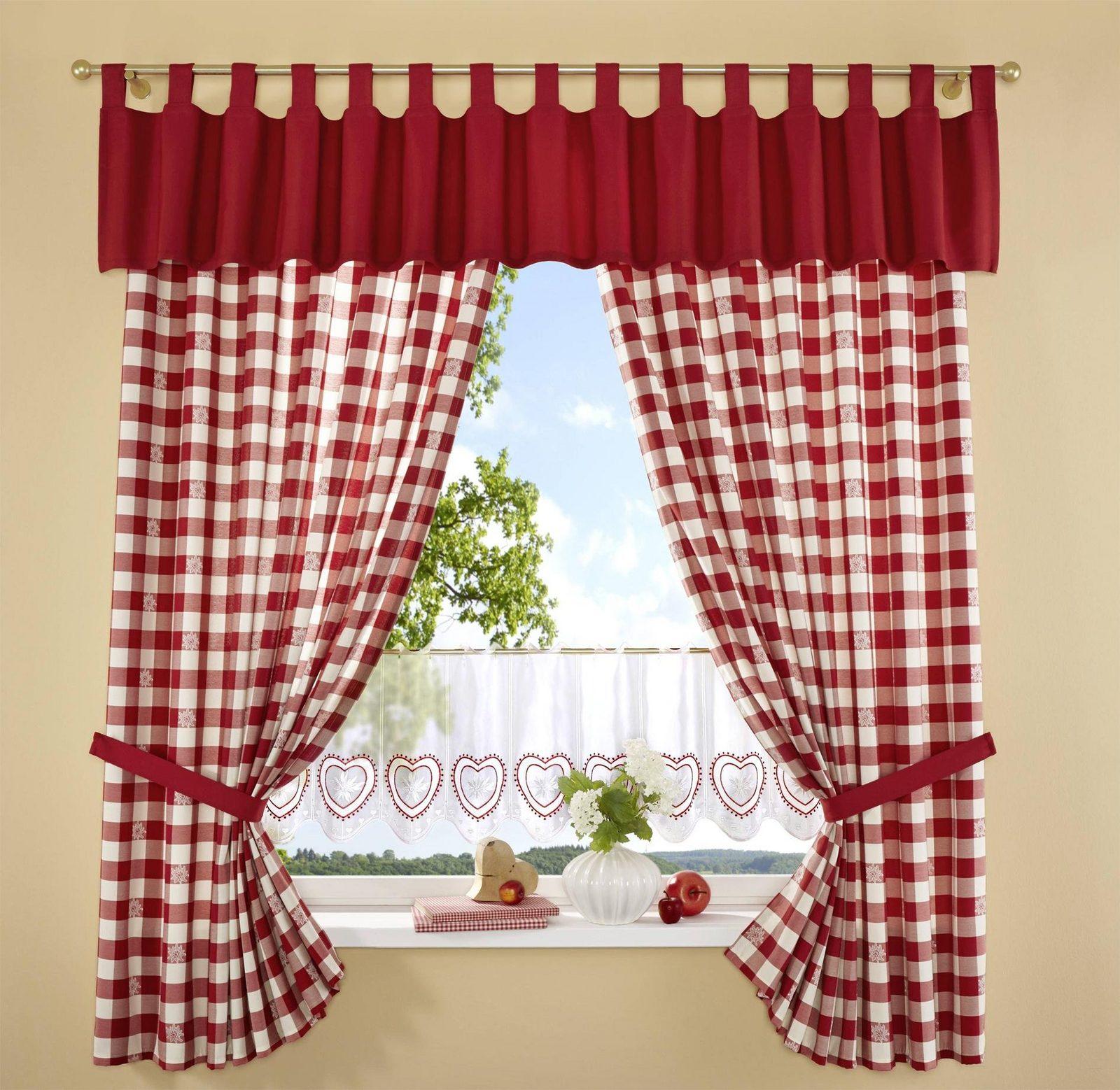 Vorhang, Stickereien Plauen, »Durach« (2 Stück)