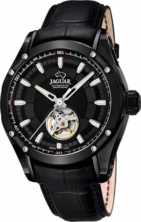 Jaguar Automatikuhr »Special Edition Swiss Made, J813/A« in schwarz