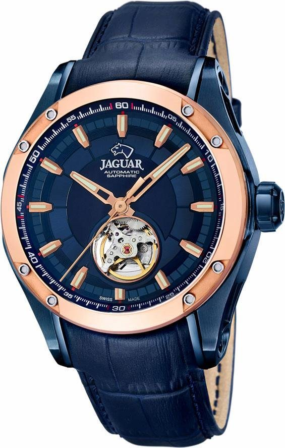 Jaguar Automatikuhr »Special Edition Swiss Made, J812/A« in blau