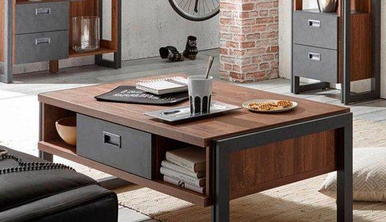 Home affaire Couchtisch »Detroit«, Breite 113 cm, im angesagten Industrial-Look