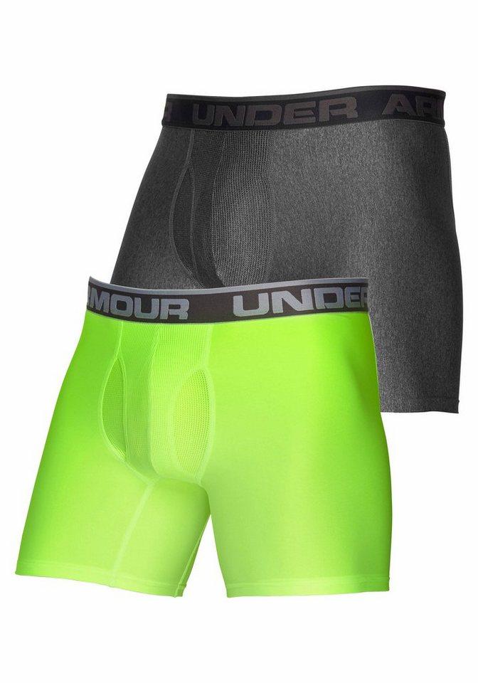 Under Armour Boxer ( 2 Stück ) in grau+grün