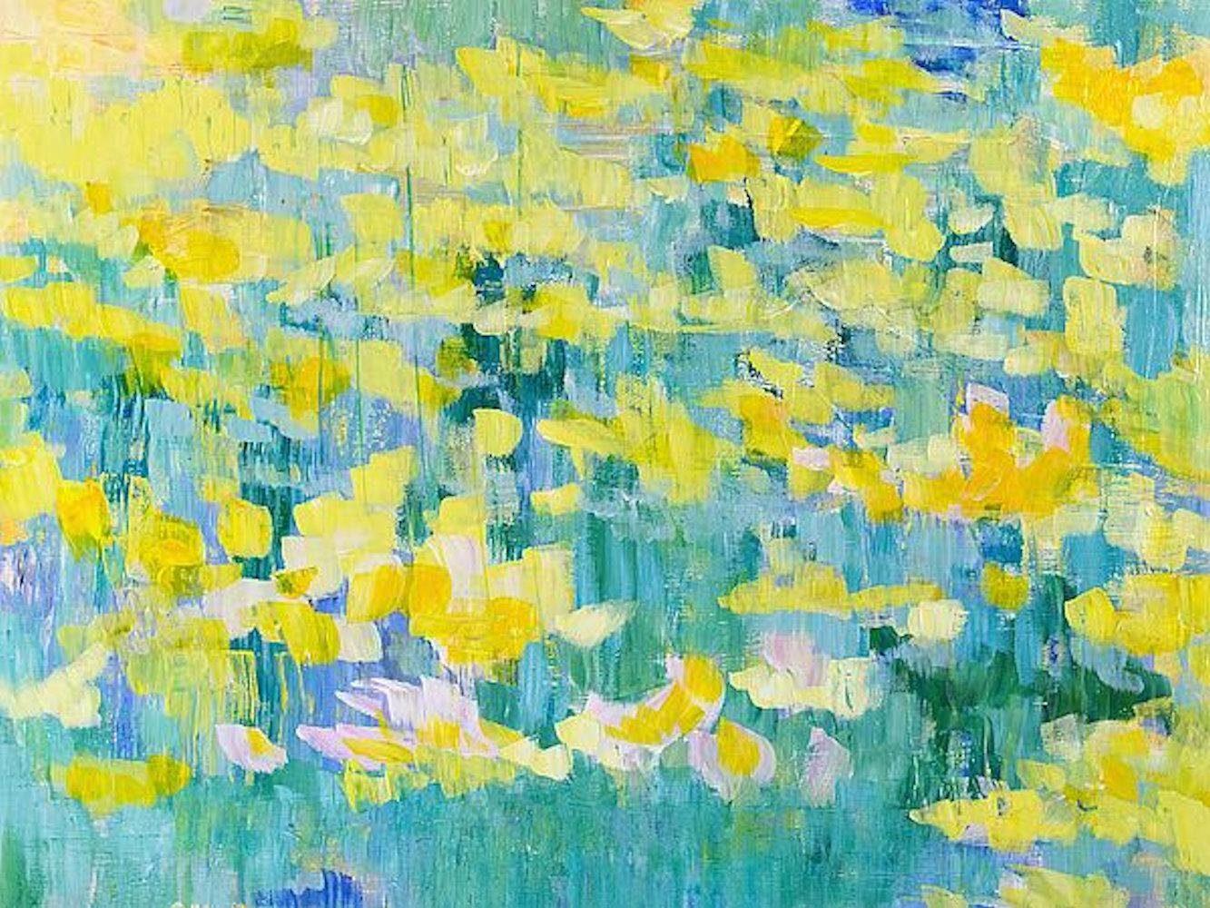 Home affaire, Leinwandbild »T.GONDA/alle Gelb«, 80/60 cm