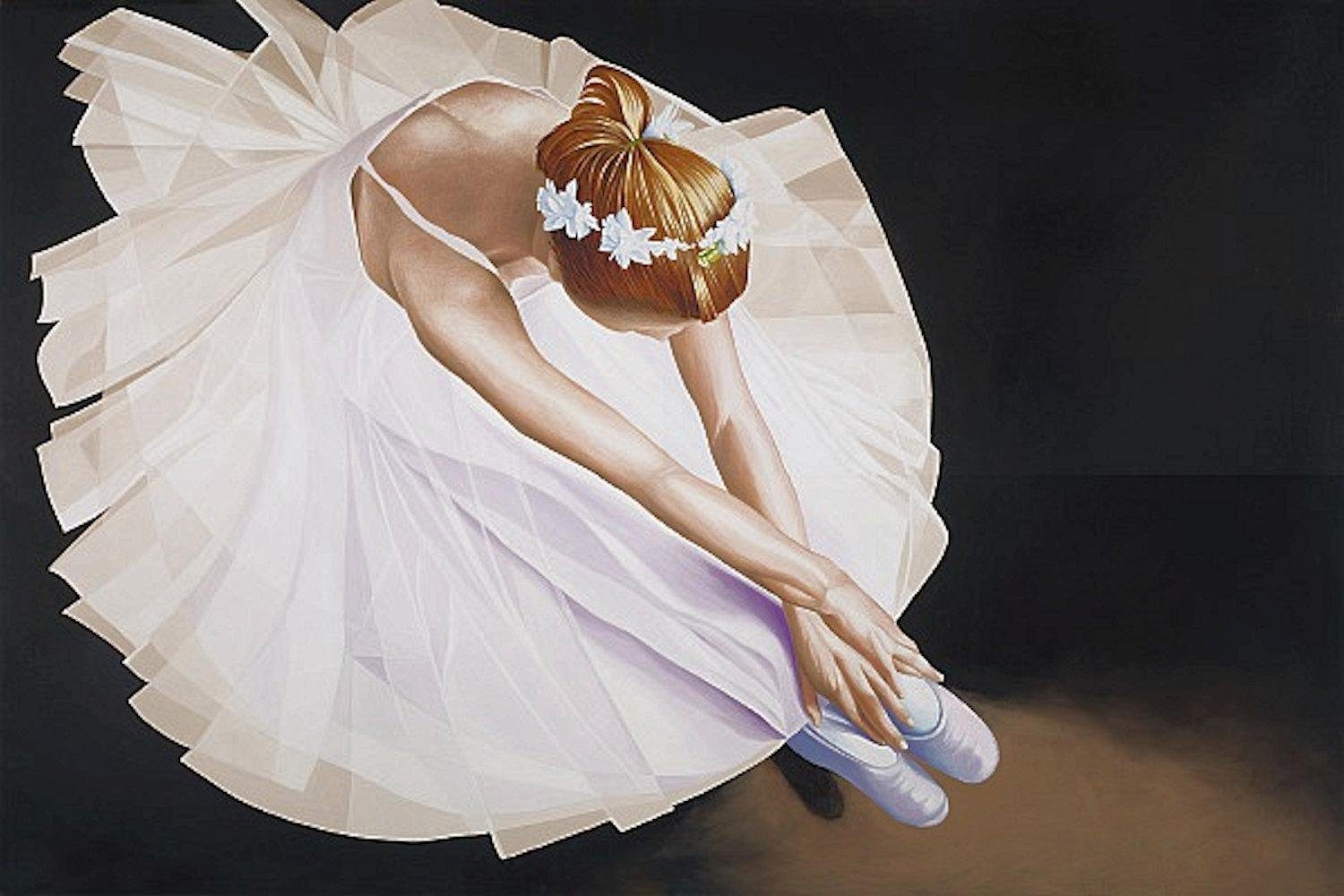 Home affaire, Leinwandbild »K.BLACK/Ballerina«, 70/50 cm