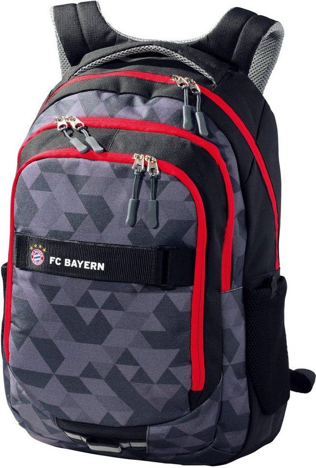 FC Bayern Schulrucksack mit Laptopfach